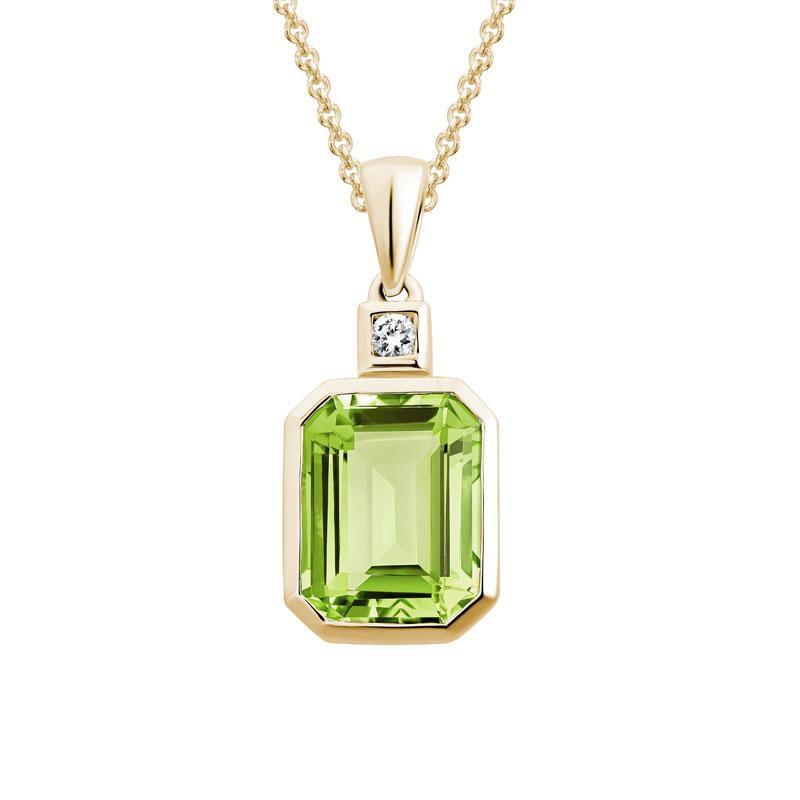 Wear-EVERY-Where Peridot Necklace