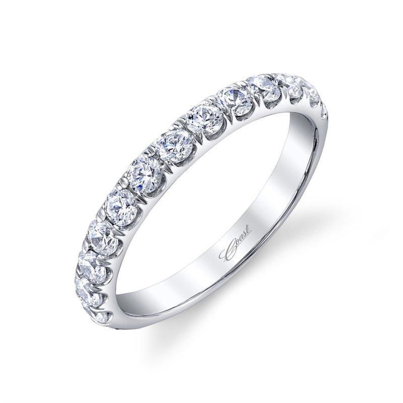 Coast Diamond Fishtail Diamond Wedding Band