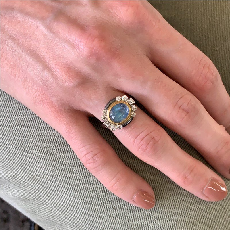 Lika Behar Moonstone Ring