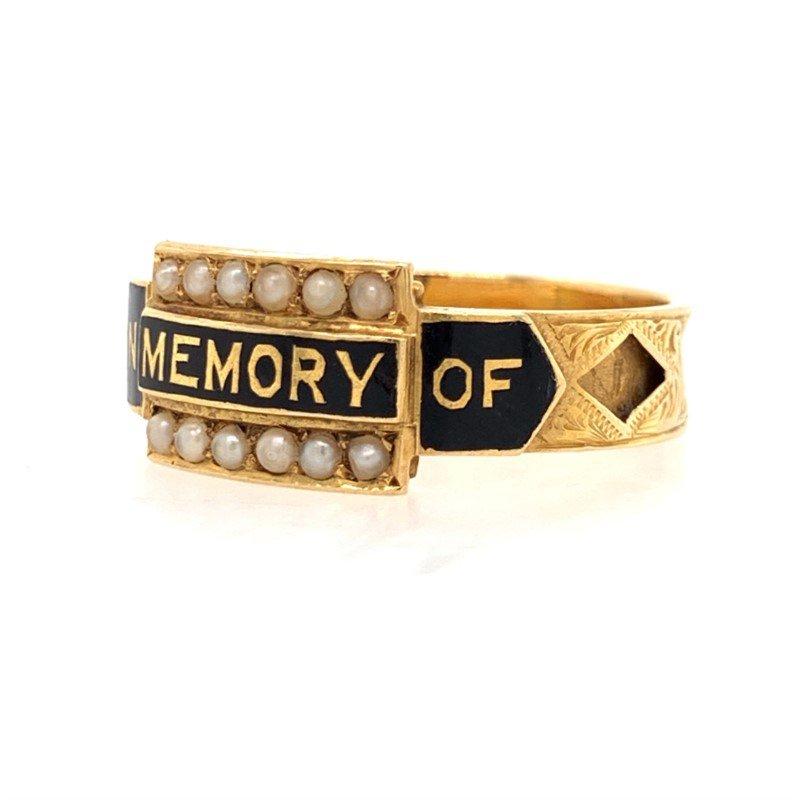 Signature Estate Victorian English Memory Ring