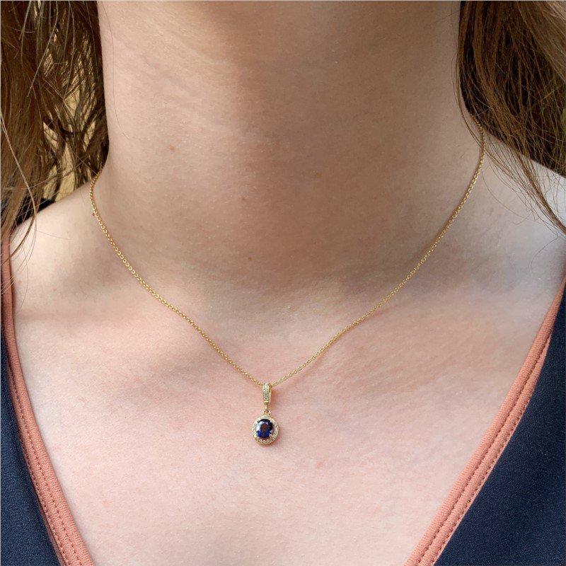 Signature Estate Sapphire Necklace
