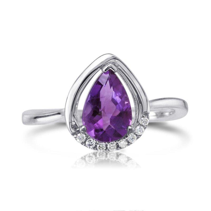 Parlé Amethyst Ring