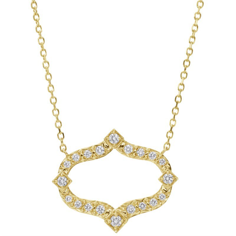Gumuchian Secret Garden Diamond Necklace