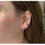 Coast Diamond Rhodolite Garnet Earrings