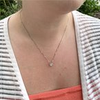 Moses Signature Halo Necklace