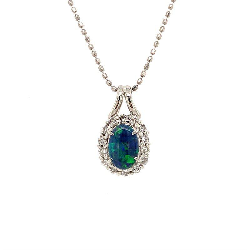 Signature Estate Black Opal Necklace