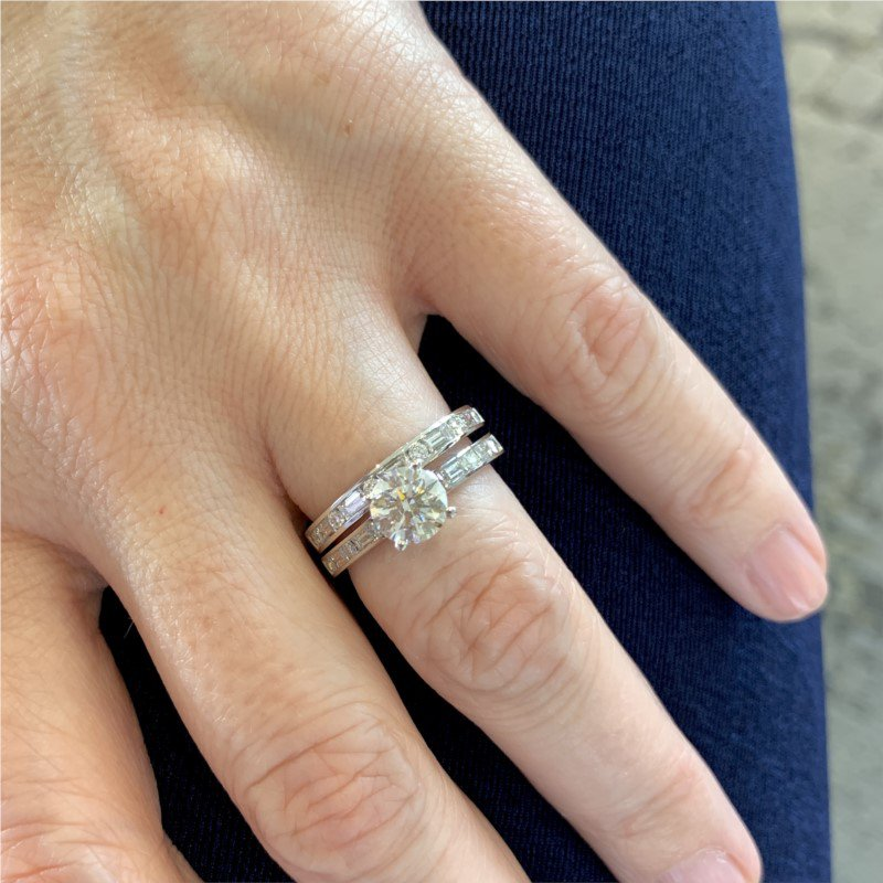 Moses Signature Engagement Ring