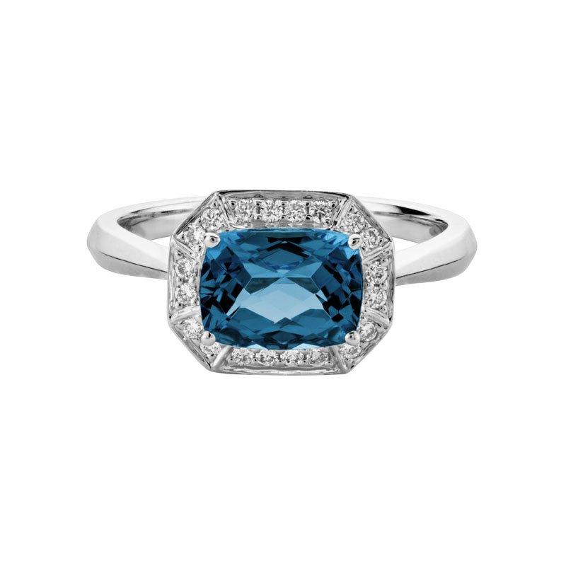 Wear-EVERY-Where London Blue Topaz Ring