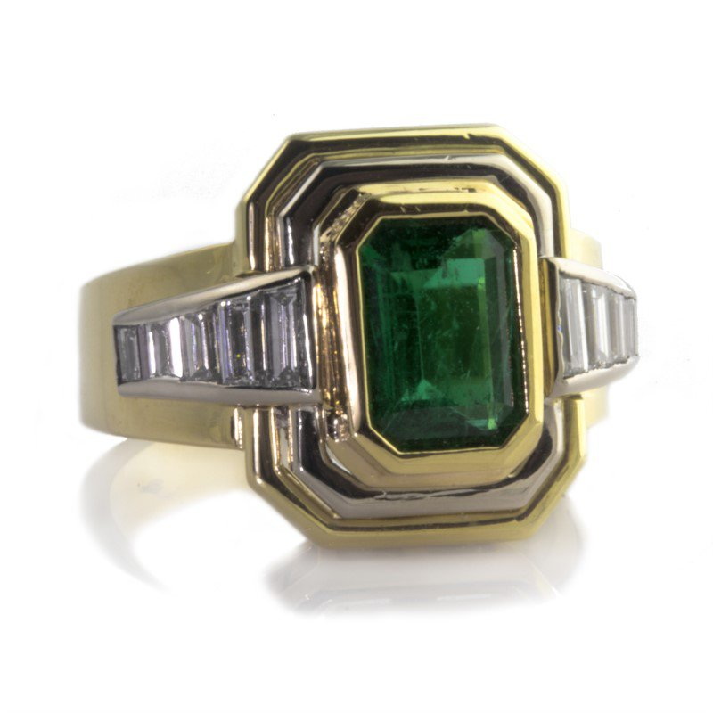 Signature Estate Emerald Ring