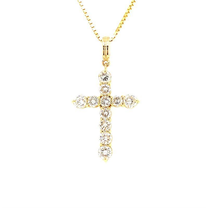 Signature Estate Diamond Cross Necklace