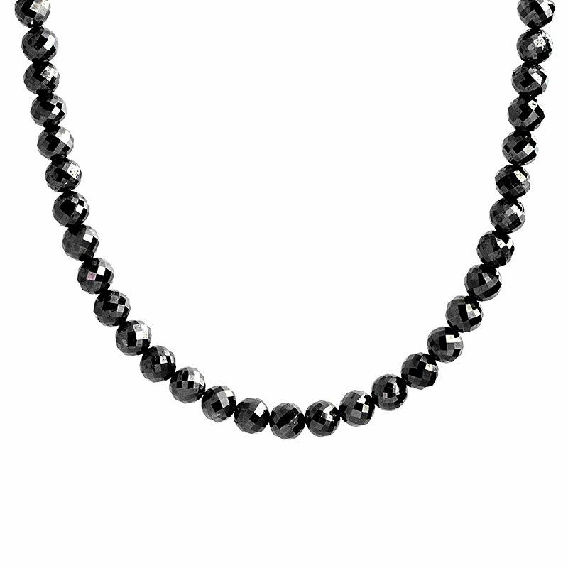 Moses Signature Mirror Ball Black Diamond Beads