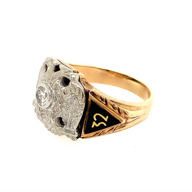 Signature Estate Masonic Ring