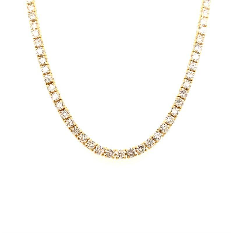Moses Signature Diamond Tennis Necklace