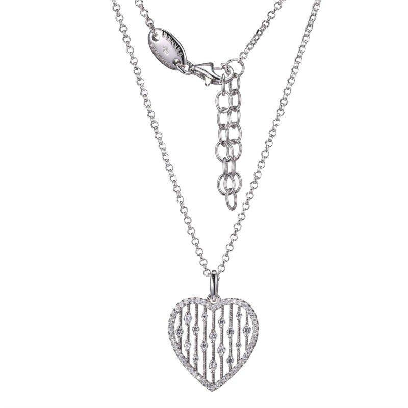 Charles Garnier Paris Heart Necklace