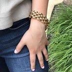 Signature Estate Retro Link Bracelet