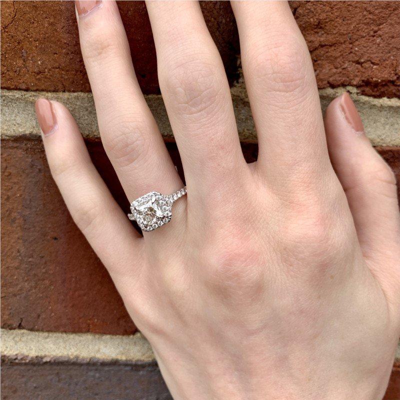 Moses Signature Dream Cut Engagement Ring
