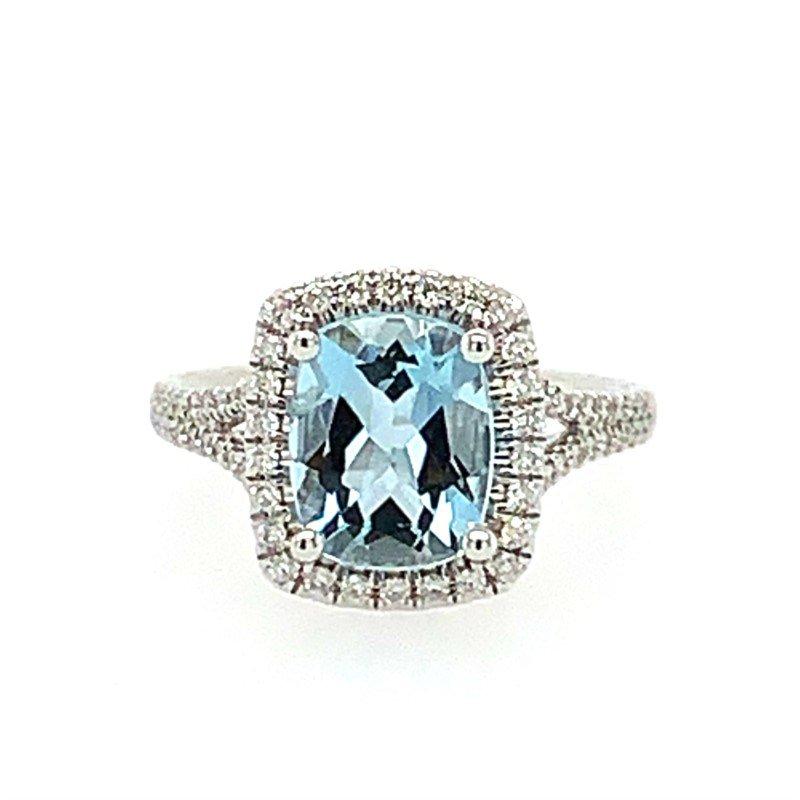 Coast Diamond Aquamarine Ring