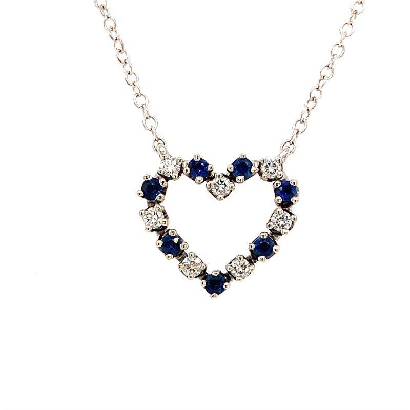 Signature Estate Open Heart Necklace