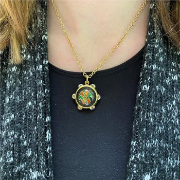 Enamel Locket