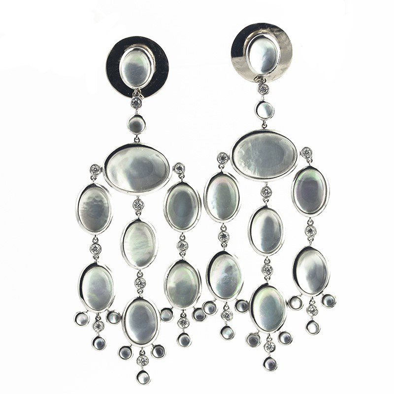 Signature Estate Mother Of Pearl Earrings