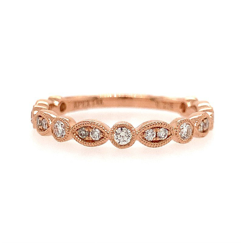 Moses Signature Stackable Ring