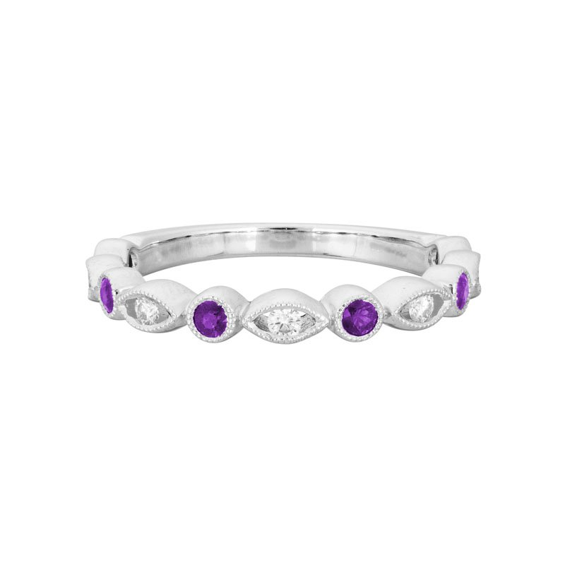 Wear-EVERY-Where Amethyst Ring