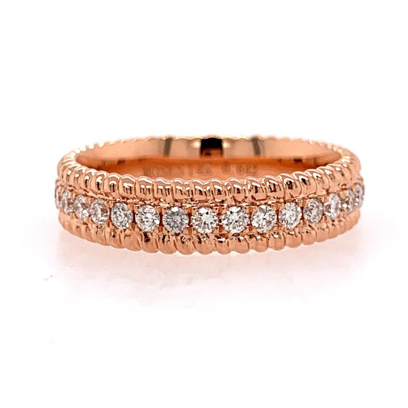 Moses Signature Diamond Eternity Band