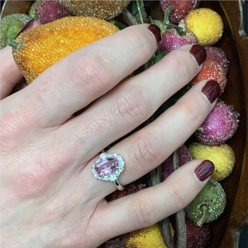 Signature Estate Pink Topaz Ring