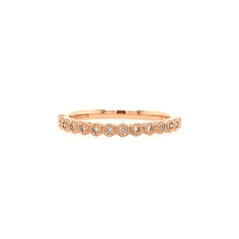 Moses Signature Stackable Diamond Band
