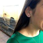Moses Signature Ruby Earrings