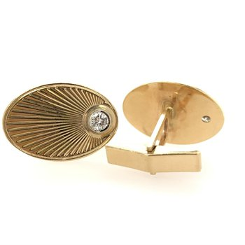 Sunburst Cuff Links