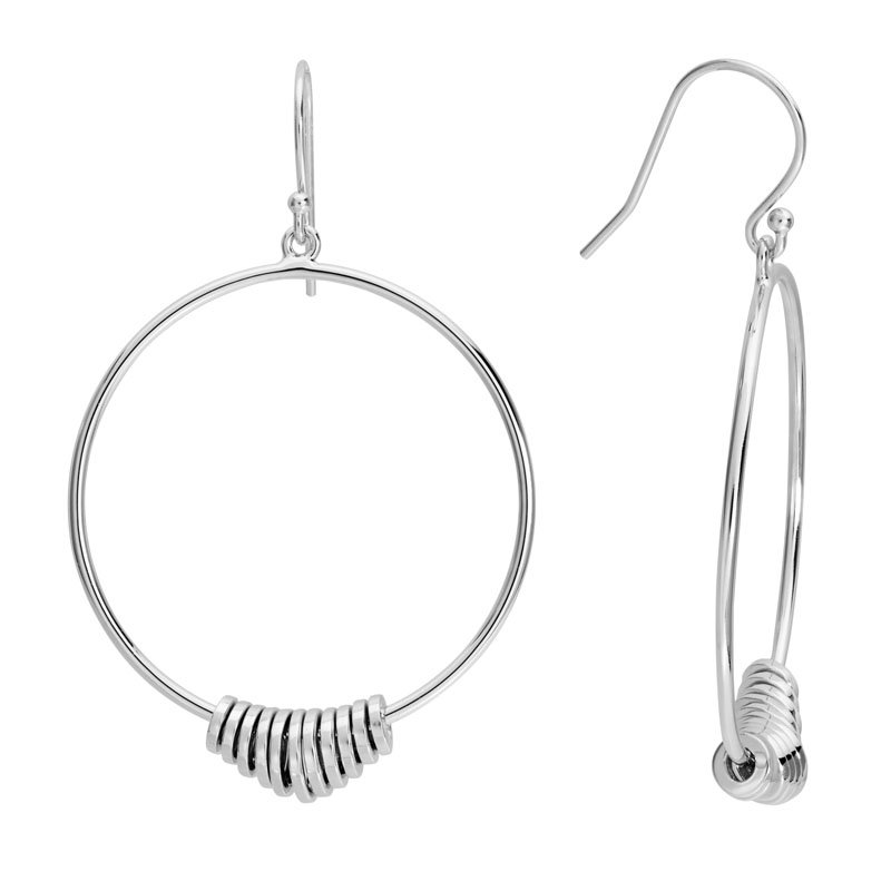 Wear-EVERY-Where Hoop with Rings