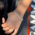 Moses Signature Diamond Tennis Bracelet