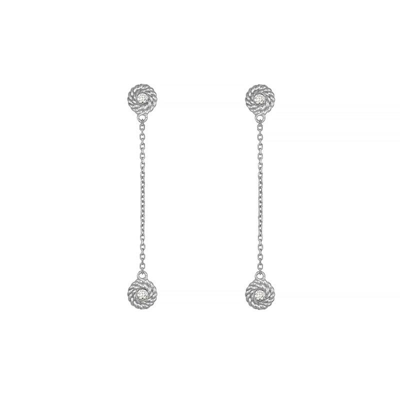 Wear-EVERY-Where Diamond Dangle Earrings