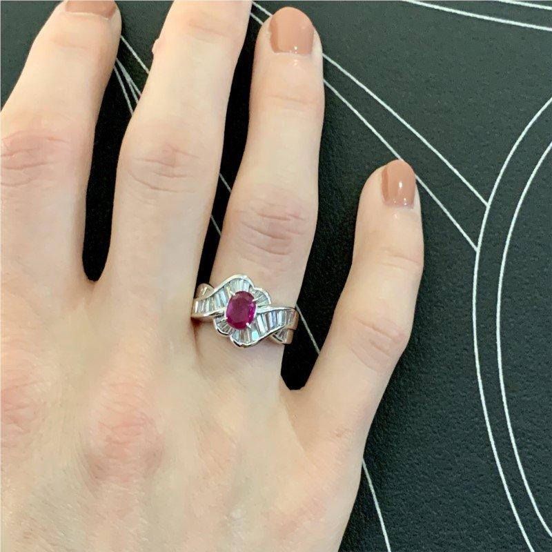 Signature Estate Burma Ruby Ring