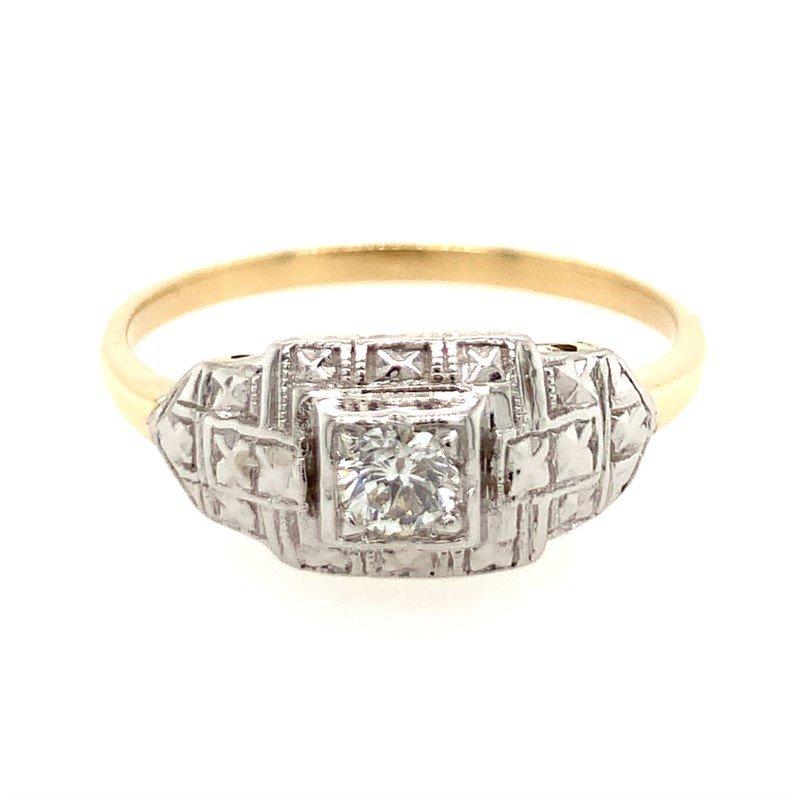 Signature Estate Diamond Filigree Ring