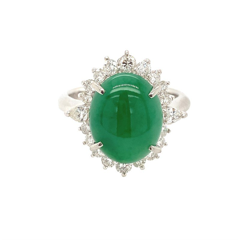 Signature Estate Jadite Ring