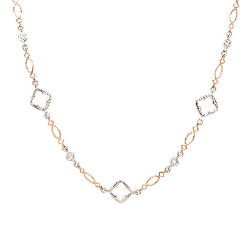 Coast Diamond Fancy Link Necklace