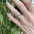 Signature Estate Art Deco Diamond & Sapphire Ring