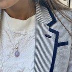 Signature Estate Lavender Jade Necklace