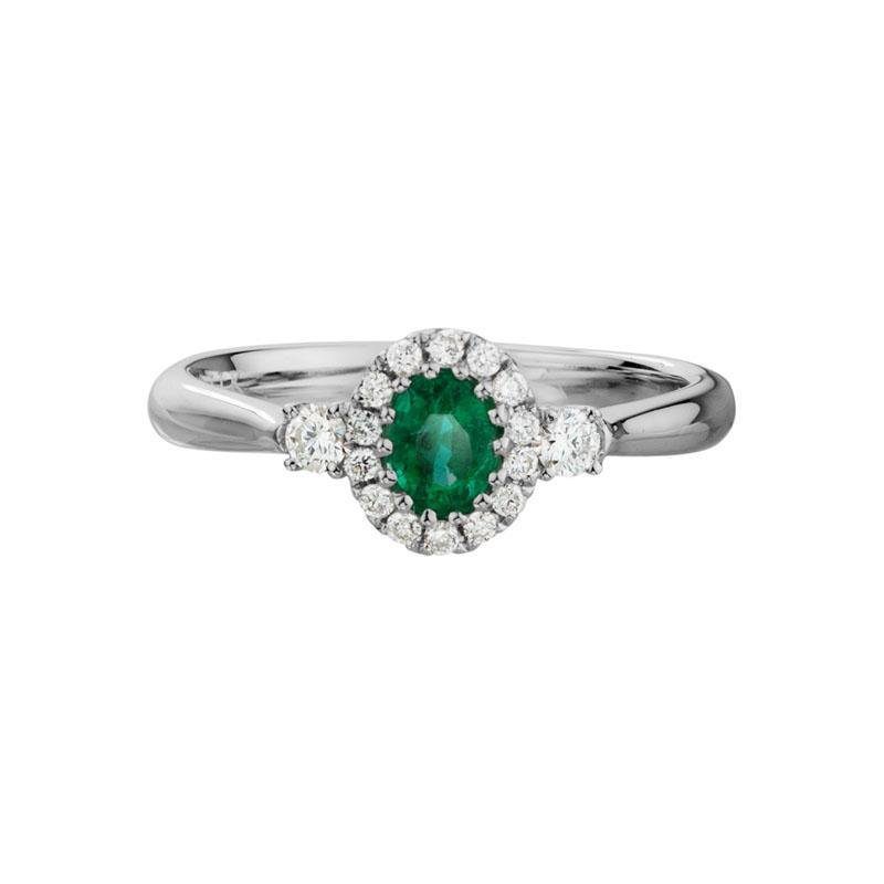 Wear-EVERY-Where Emerald Ring