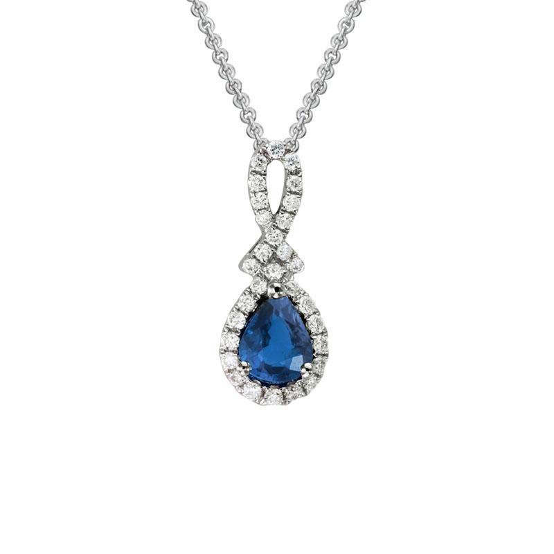 Wear-EVERY-Where Sapphire Necklace