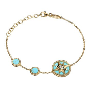"""True North"" Compass Bracelet"