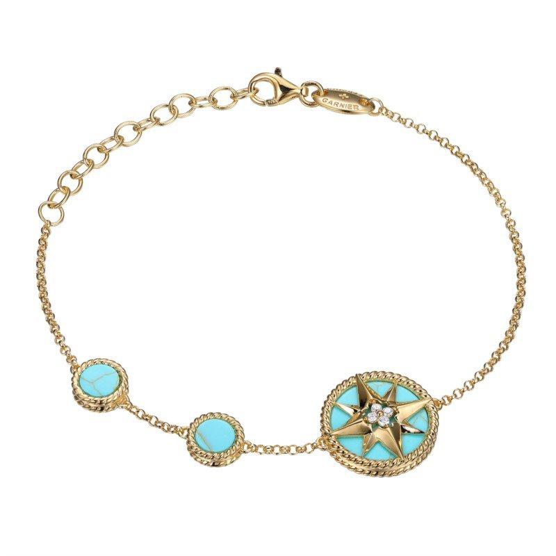 "Charles Garnier Paris ""True North"" Compass Bracelet"