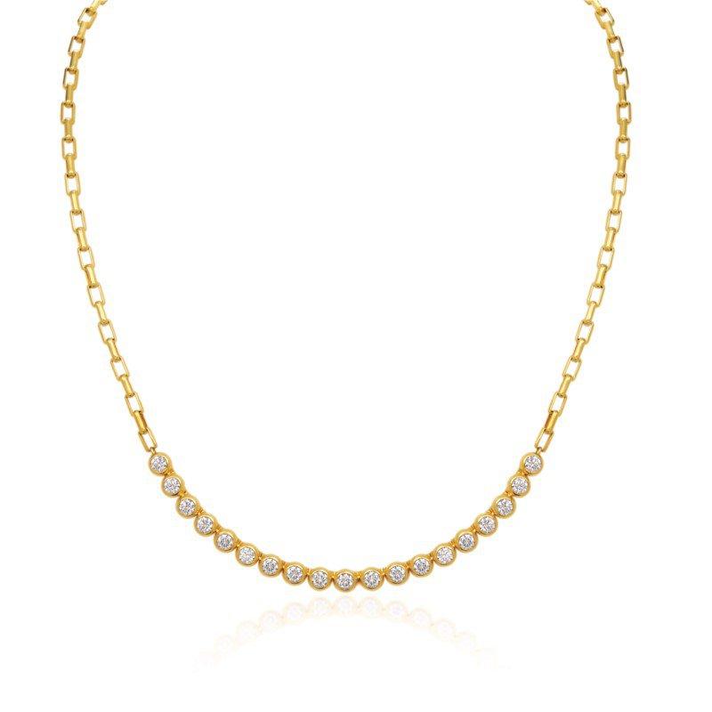 Gumuchian Moonlight Diamond Necklace