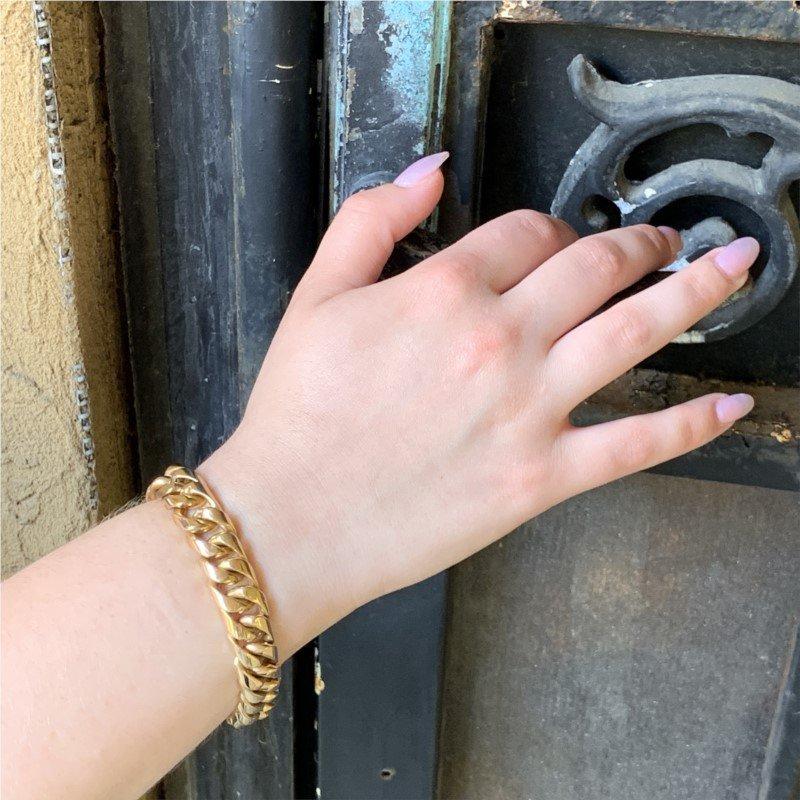 Signature Estate Curb Link Bracelet