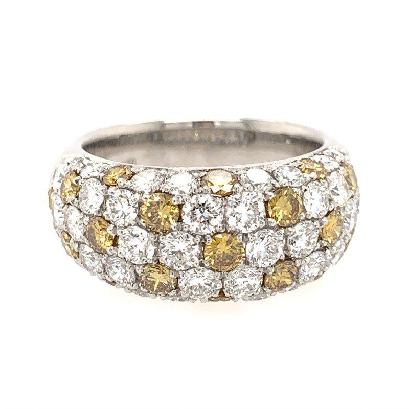 Signature Estate Yellow & White Diamond Ring