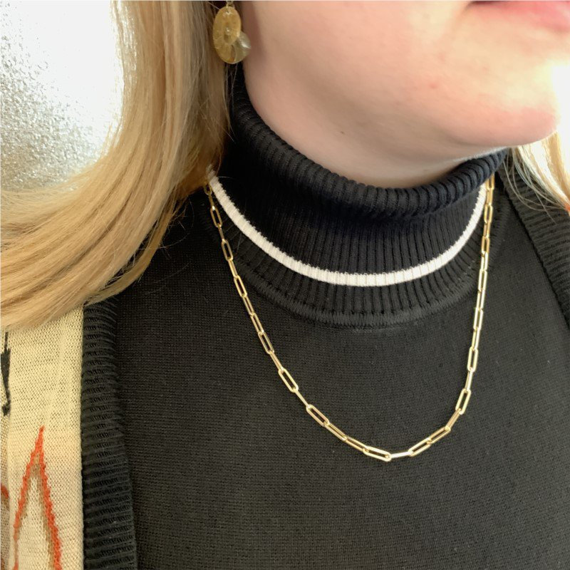 Wear-EVERY-Where Paperclip Chain