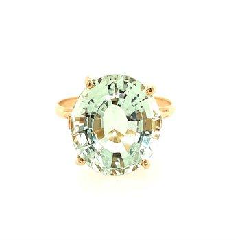 Green Quartz Ring