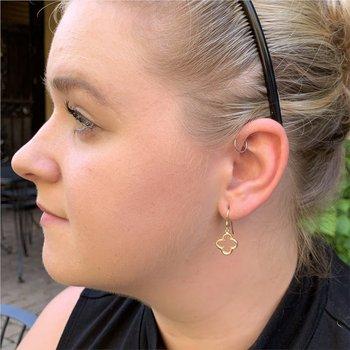 Four Petal Earrings